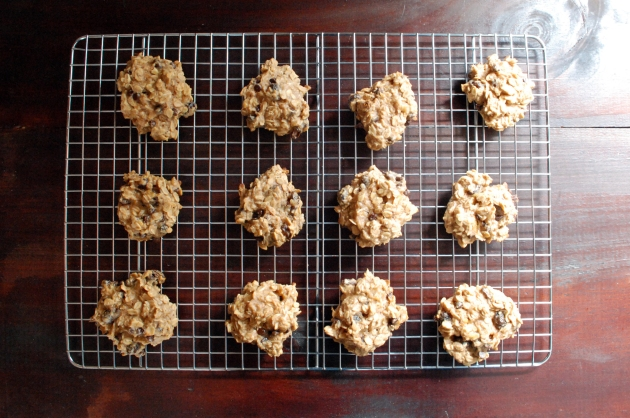 Guilt Free Cookies: no sugar or flour...uses mashed bananas to naturally sweeten