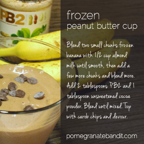 Frozen PB Cup Recipe