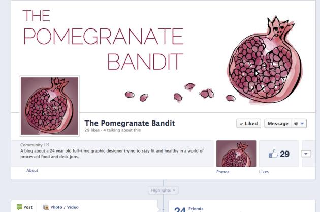 pomegranate bandit on facebook