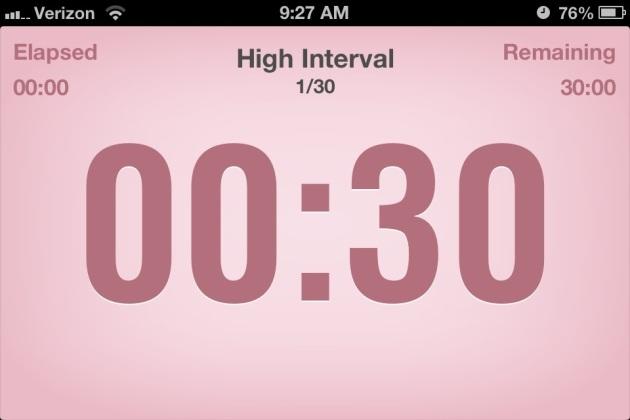 Interval app
