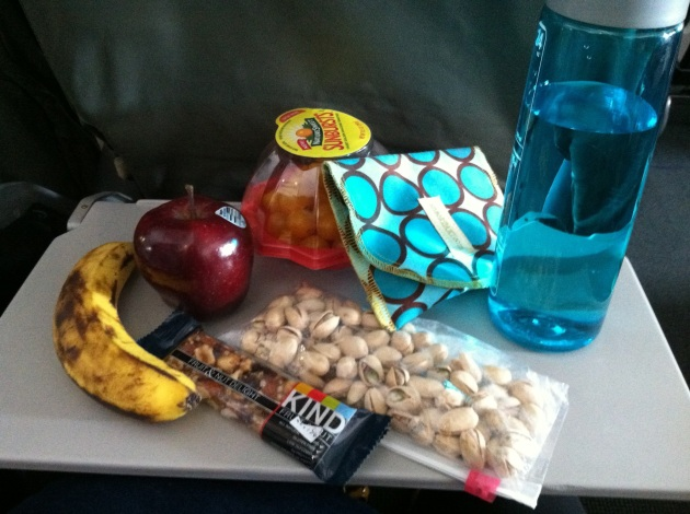 plane snacks!