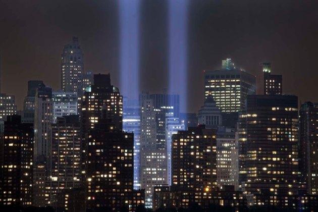 ground zero, 9/11, Tribute in Light