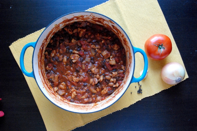 Turkey Chili | The Pomegranate Bandit