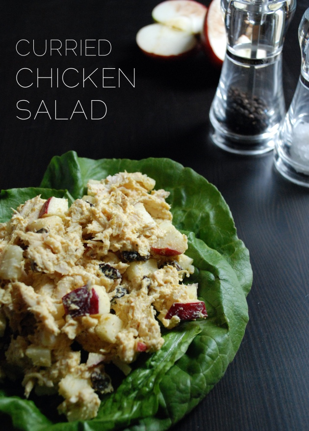 Curried Chicken Salad | The Pomegranate Bandit