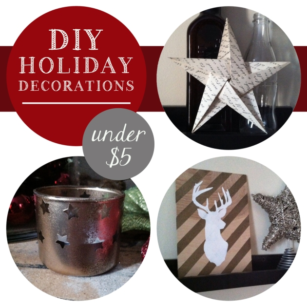 DIY Holiday Decorations for under $5 | The Pomegranate Bandit