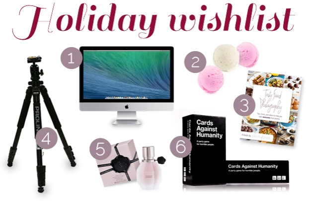 Holiday Wish List | The Pomegranate Bandit
