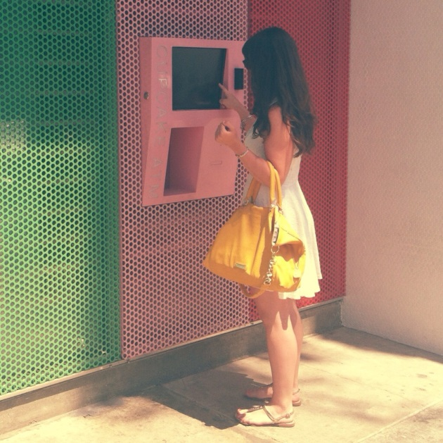 Cupcake ATM | The Pomegranate Bandit