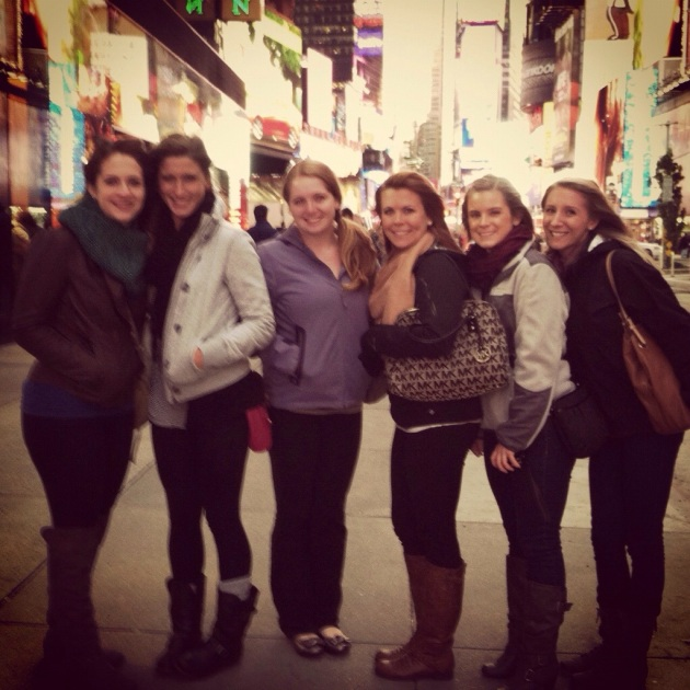 NYC with the girls | The Pomegranate Bandit