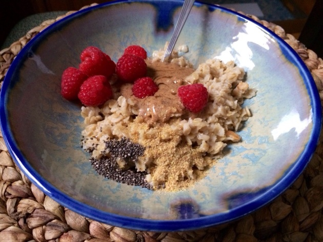 Oat Bowl | The Pomegranate Bandit